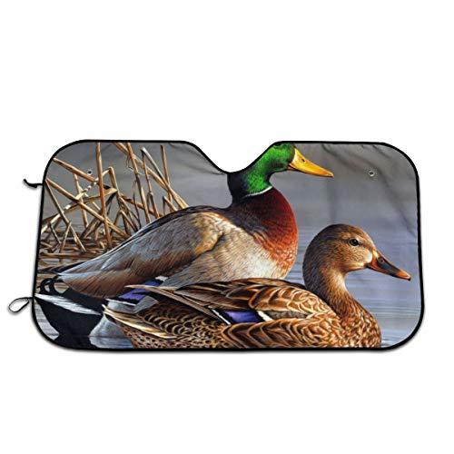 Best Price Mallard Duck Art Windshields Sun Shade 3D Printed Long Lasting