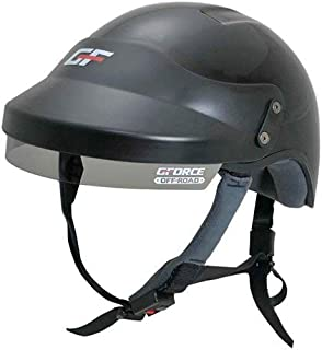 G-Force OffRoad 4414MEDBK Off-Road UTV Open Face Helmet DOT Approved Medium Blac