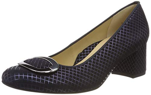 ARA Damen Brighton 1235534 Pumps, Blau (Midnight 67), 38 EU