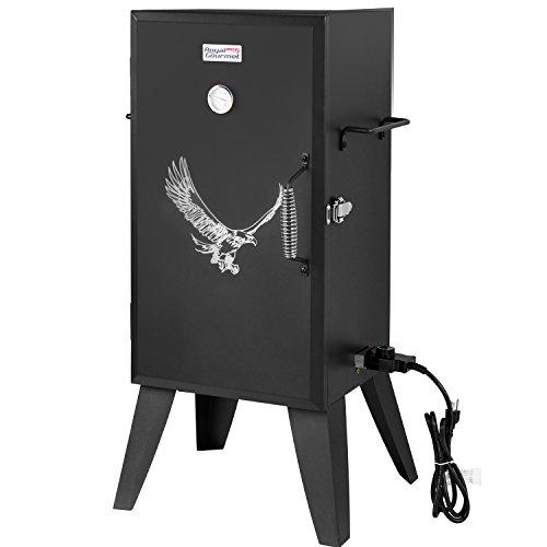 Royal Gourmet SE2801 Electric Smoker with Adjustable Temperature Control, Black