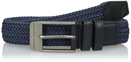 Under Armour Men's Braided Belt 2.0, Academy (408)/Anthracite, 36
