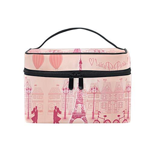 Tour De l'Amour Paris Trousse Sac de Maquillage Toilette Cas Voyage Sac Organisateur Cosmétique Boîtes pour Les Femmes Filles