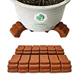 POWELL Gardening (12pc Pack) Plastic Pot Elevator - Plant/Flower Pot feet for Outdoor planters, Raises up to 4 Pots!!