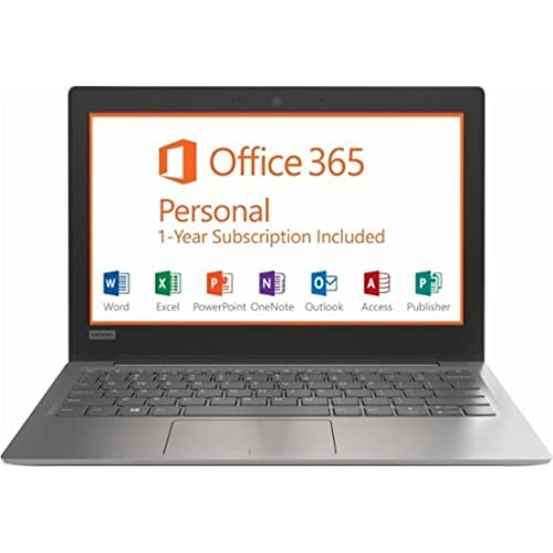 Amazon.com: Lenovo IdeaPad Flagship High Performance 11.6 inch HD Laptop PC | Intel Celeron N3350 | 2GB RAM | 32GB | HDMI | USB Type-C | Bluetooth | Office ...