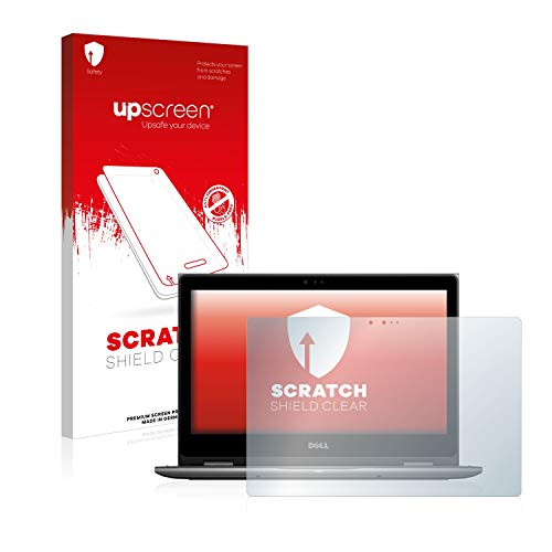 upscreen Scratch Shield Screen Protector compatible with Dell Latitude 3390 2-in-1 (one camera) - HD-Clear, Anti-Fingerprint