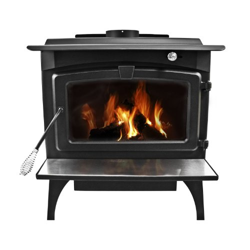 Pleasant Hearth 1,800 Sq. Ft. Medium Wood Burning Stove