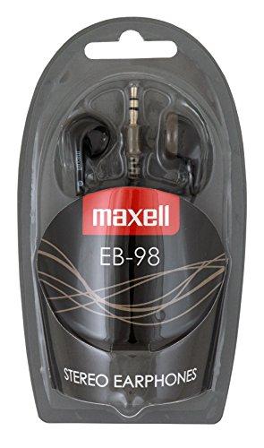 Auriculares de botón Maxell EB-98BLACK Color Negro