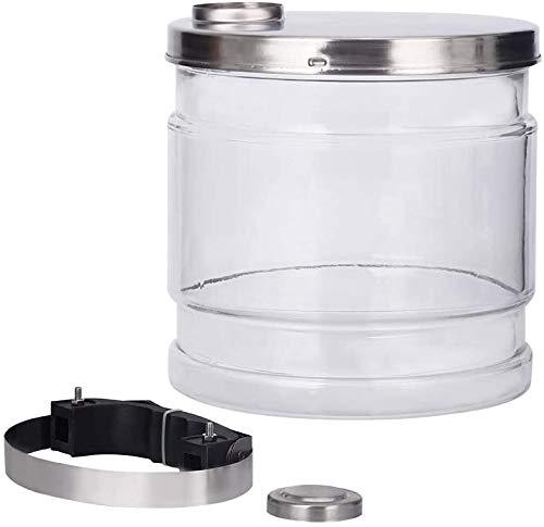 DCHOUSE Wasser-Destilliergerät, 4 Liter, Glasbehälter für Zuhause, Zahnkunst, Theken, Destillierung, reines Wasser