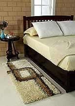 TIB® Shaggy Bedside Runner Home Floor Décor Rugs - Living, Dinning, Office, Rooms & Bedroom, Hallway Carpet