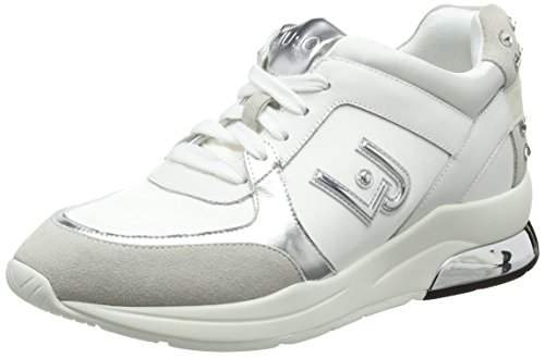 Liu Jo Shoes Damen Running Miranda Sneaker, Weiß (White 10602), 41 EU