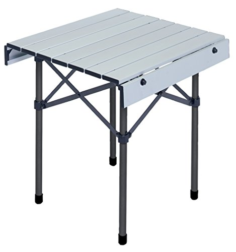 Rio Gear 18-Inch Portable Heat Resistant Camping Table with Carry Bag