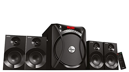Intex IT-Rider 4.1 Channel Multimedia Speakers