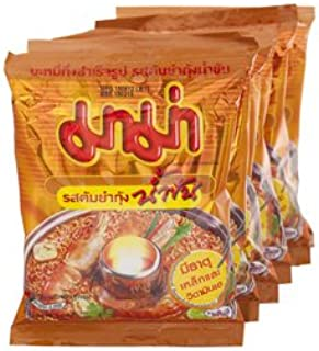 MAMA INSTANT NOODLES SHRIMP CREAMY TOM YUM FLAVOUR 10 of Pack
