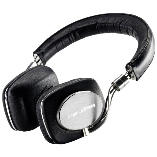 Bowers and Wilkins FP33596 P5 - Auriculares supraurales para iPhone y iPod (Hi-Fi), color negro