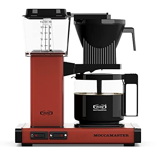 Moccamaster Filter Kaffeemaschine KBG Select, 1.25 Liter, 1520 W, Brick Red