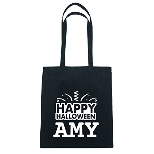 JOllify Baumwolltasche Halloween für AMY - Happy Halloween
