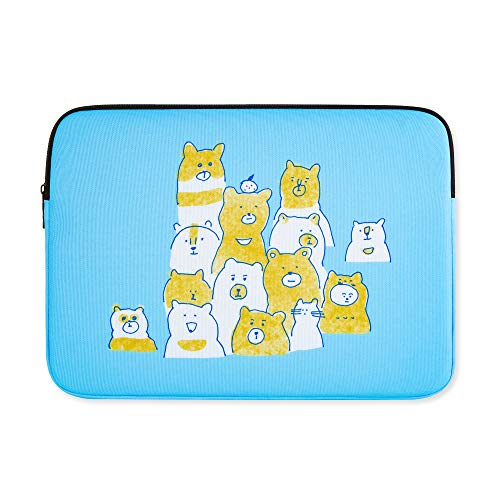 Amazing Designs Laptop Sleeve Bag Compatible with MacBook Air 13 inch, MacBook Pro 13inch Pouch Skin Cover Teddybears 13 inch