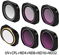 RONSHIN MCUV CPL NDPL ND64-PL ND32-PL ND4 ND8 Camera Lens Filter Kit for DJI OSMO POCKET Gimbal Accessories UV CPL ND4 ND8 ND16 ND32