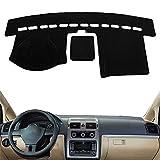 SAXTZDS Auto Dashboard Cover Pad Sonnenschutz Teppich, passend für Toyota Land Cruiser Prado 2010-2018 2019