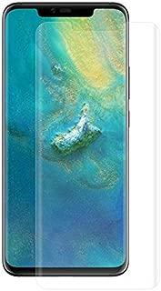 Gor Huawei Mate 20 Pro 3d Kavisli Full Kaplama Darbe Emici Ekran Koruyucu 2 Adet Set ŞEFFAF