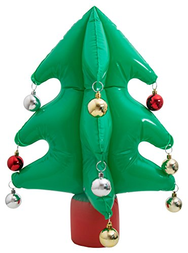 Thumbs Up UK INFLXMS Inflatable Christmas Tree, One Size, Green