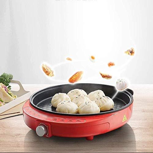 414UgWuRKeL - Zyyqt Brotbackmaschine Waffeleisen, Nonstick Elektro Pfannkuchen Maker Griddle, elektrische Pfanne mit Batter Spreader Temperaturregelung for Tortilla Eier