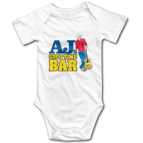 U are Friends Combi-Short bébé bébé Barboteuse pour Enfant de Alan Jackson Newborn Girls Boy Jumpsuit(18M,Blanc)