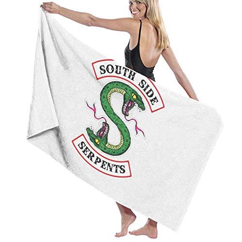 Ewtretr Toalla de Playa Bath Towel Riverdale Fans Bath Towels Super Absorbent Beach Bathroom Towels for Gym Beach SWM SPA Hotel Home Ideas Decoration