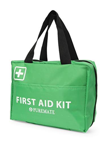 225-teiliges Erste-Hilfe-Set - Notfall-Set - bestehend aus Augendusche, Eisbeutel, Moleskin-Pad, CPR- und Notfalldecke für Reisen, zu Hause, im Büro, im Auto, bei der Arbeit und im Freien