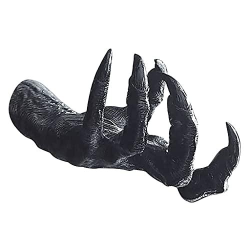 Gazechimp Estatuas de Pared de Mano de Ojo de Demonio Escultura Gótica Figuras de Arte Decoración de Montaje en Pared