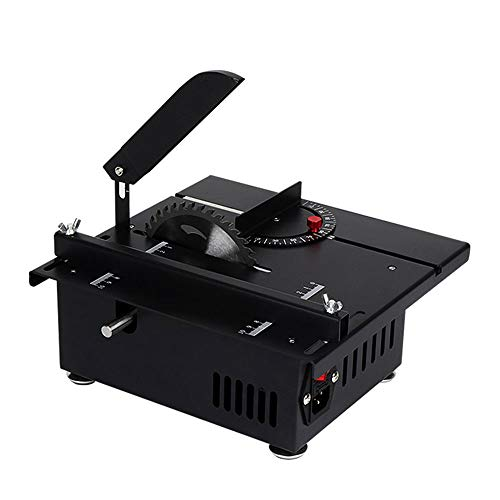 High-Power Mini Table Saw 10000RPM for Cutting Polishing Engraving Grinding, 1.57'' Cutting Depth DIY Handmade Wooden Model Crafts