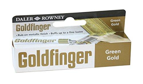 Daler-Rowney Goldfinger Tube de peinture (Vert doré)