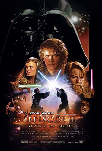 """Theissen Star Wars Episode 3""""Revenge of The Sith Poster + a Surprise Poster! - Matte Poster Frameless Gift 11 x 17 inch(28cm x 43cm)*IT-00097"""
