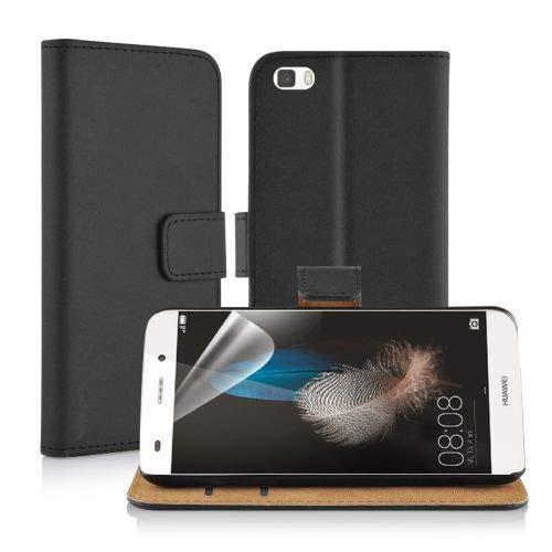 betterfon Wallet PU Leder Huawei Huawei P8 Schwarz