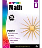 Spectrum Grade 8 Math Workbook – Pythagorean Theorem, Rational Irrational Numbers, Geometry With Practice, Tests, Answer Key For Homeschool or Classroom (160 pgs)