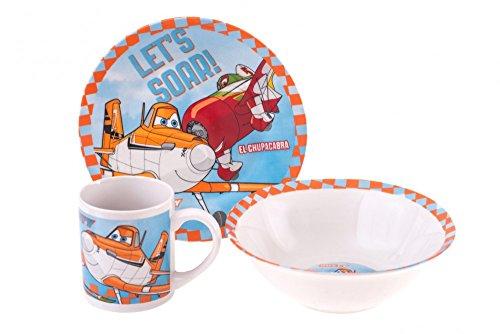 Disney Planes Set petit-déjeuner 3 pièces