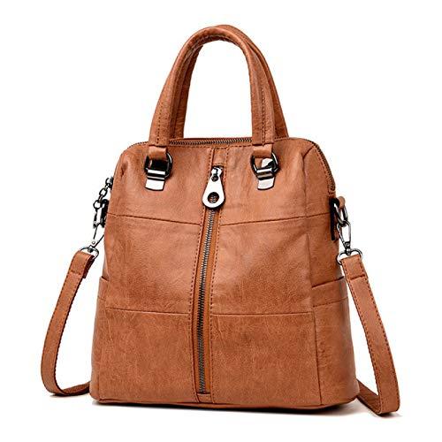 Multifunction Women Leather Backpacks Female Shoulder Bag Ladies Bagpack School Bags For Teenage Girls Preppy