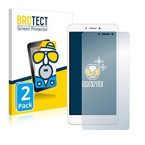 BROTECT 2X Entspiegelungs-Schutzfolie kompatibel mit Xiaomi Mi Max 2 Bildschirmschutz-Folie Matt, Anti-Reflex, Anti-Fingerprint
