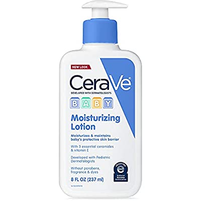 CeraVe Baby Lotion | Gentle Baby Skin Care with Hyaluronic Acid | Paraben and Fragrance Free | 8 Ounce by CeraVe Baby