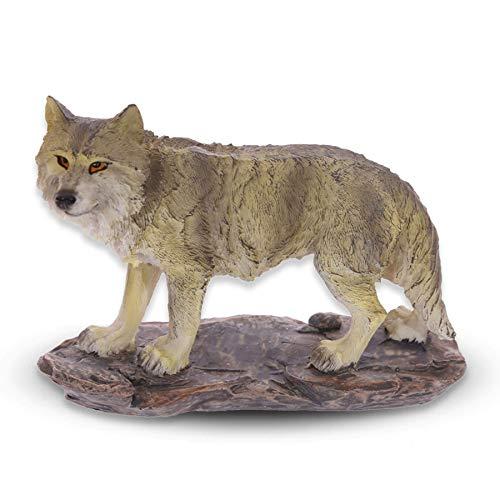 mtb more energy Figura Lobo ''On The Hunt'' - Altura 10.5 cm - Estatua Decoracion Animales Lobos
