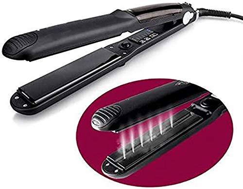 Price comparison product image Hair Straightener,  Hair Straightener Professional Hair 3 in 1 with Ceramic Plate Vaporizer Ceramic Multifunction Steam Hair Straightener Curler Hair Salon Steam Household