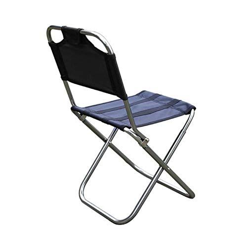 Silla de camping portátil ultraligero plegable Mochila Silla plegable al aire libre de aleación de aluminio acampa de la pesca Silla Barbacoa taburete plegable portable de la silla de heces comida cam