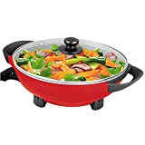 Best electric wok - Electric Wok 5QT Nonstick 13 Inch with Glass Review