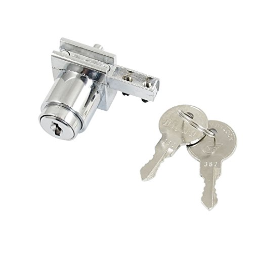 Amico Plate Square, glass Cabinet Single Door Cylinder Rim Security Lock...