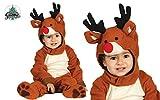 Disfraz de reno adorable para bebé - 12-24 meses