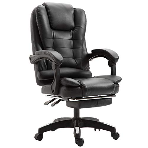 GAOLIQIN Office Chair,High Back Executive Chair,Thick Seat Cushion,Ergonomic Adjustable Seat Height and Back Recline - Desk and Task Chair