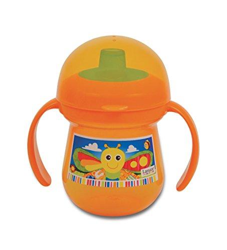 Tomy Lamaze Tasse d'Apprentissage Anti Fuite Freddie la Luciole Orange 210 ml,LAMAZE,