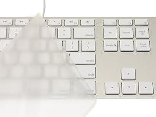 キーボードカバー・Pure Touch Key Protector #101 for Apple Keyboard (テンキー付き-JIS-US) / PTKP101