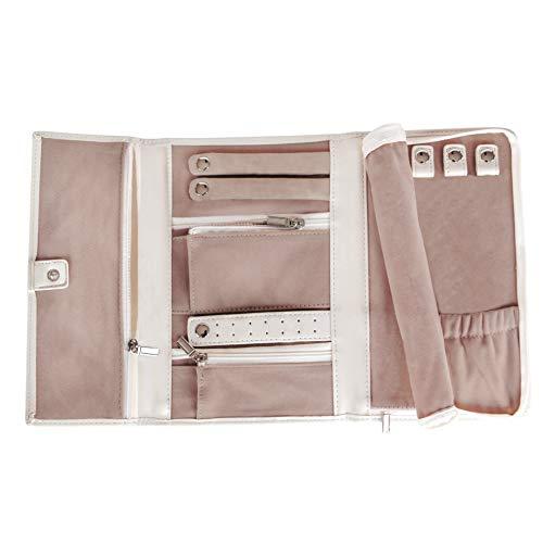 CASE ELEGANCE Schmucketui aus veganem Leder - Schmucktasche für die Aufbewahrung von Schmuck auf Reisen