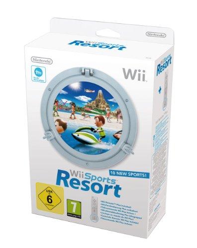 Wii Sports Resort inkl. Remote Plus Controller, weiß